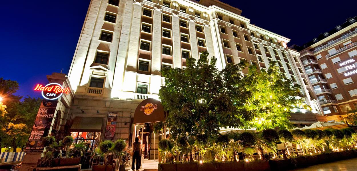 Adresse Hard Rock Cafe Madrid